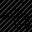 animal, eel, shock, underwater icon