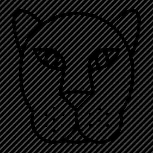 animal, king, lion icon