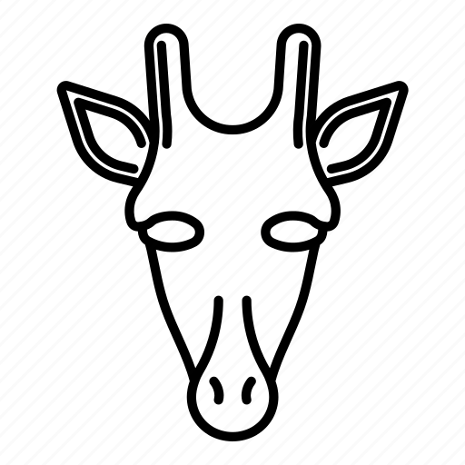 africa, animal, girafe, quadrupede icon