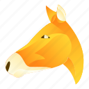 animal, animals, donkey, giraffe, horse, nature, pet icon