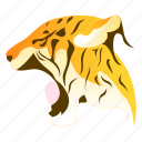 animal, animals, leapord, panther, tiger, wild icon