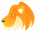 animal, animals, jungle, lion, nature icon