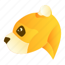 animal, animals, jungle, panda icon