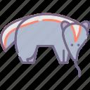 animal, anteater icon