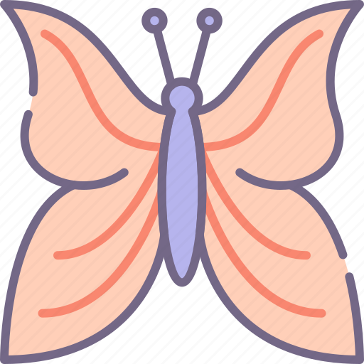animal, butterfly, fly icon