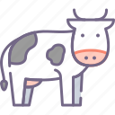 animal, cow icon