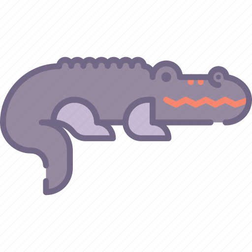 aligator, animal, crocodile icon