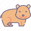 animal, hamster, rodent icon