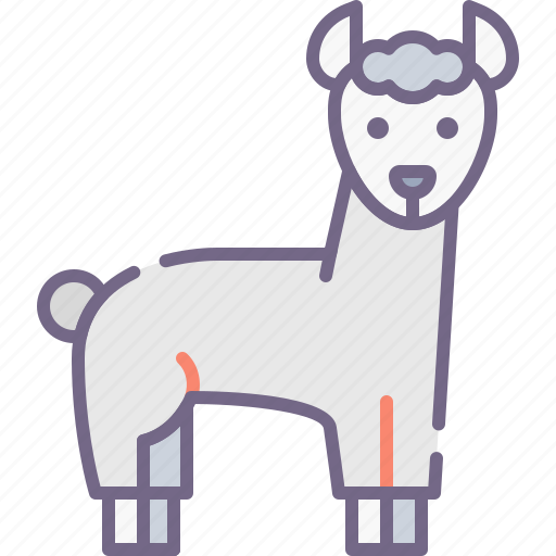 Llama, alpaca, wool icon - Download on Iconfinder