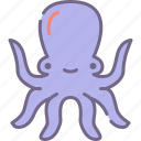 octopus, sea, squid