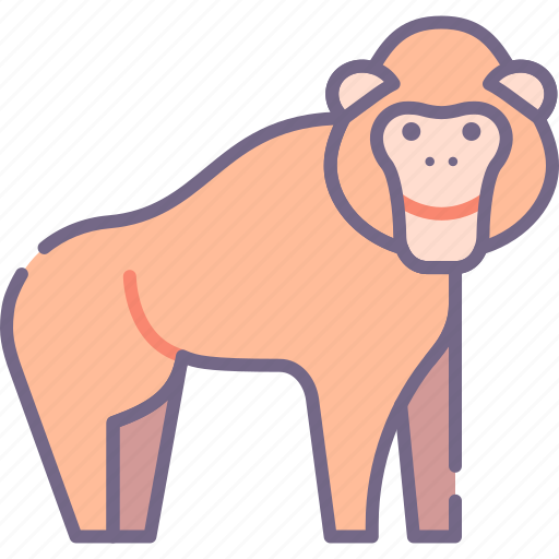 Ape, monkey, orangutan icon - Download on Iconfinder
