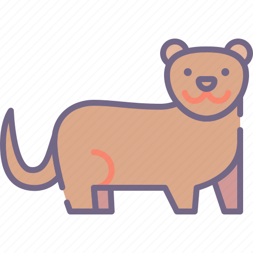 Otter, nature, water icon - Download on Iconfinder