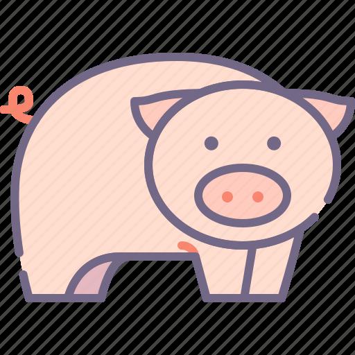 Pig, piggy, farm icon - Download on Iconfinder on Iconfinder