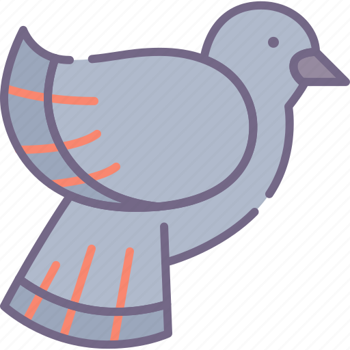 Brid, pigeon, park icon - Download on Iconfinder