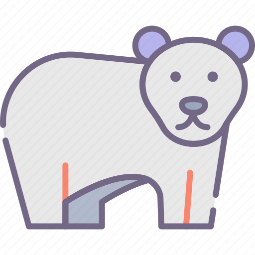 Bear, polar, arctic icon - Download on Iconfinder