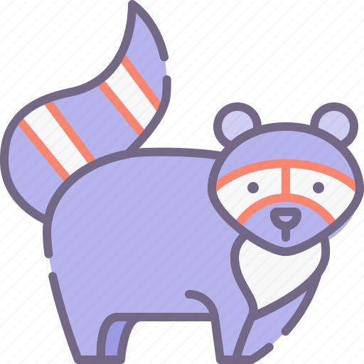 Animal, racoon icon - Download on Iconfinder on Iconfinder