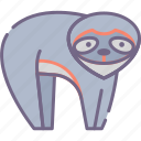 animal, lazy, sloth icon