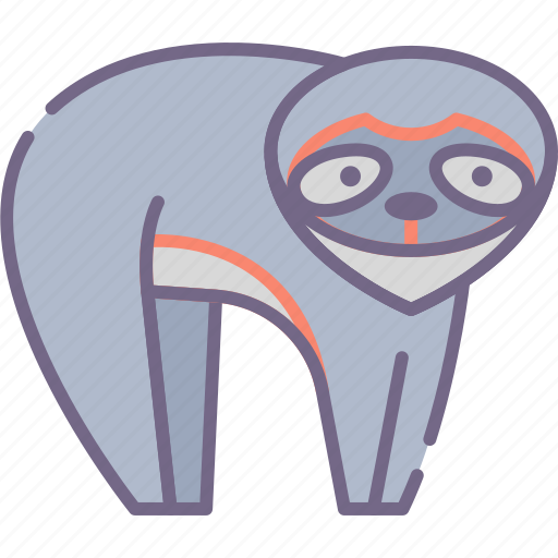 Animal, lazy, sloth icon - Download on Iconfinder