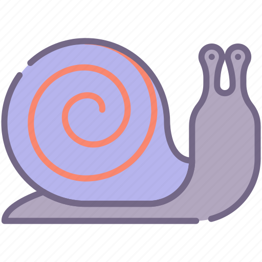 shell, slow, snail icon