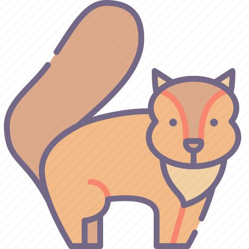 Animal, rodent, squirrel icon - Download on Iconfinder