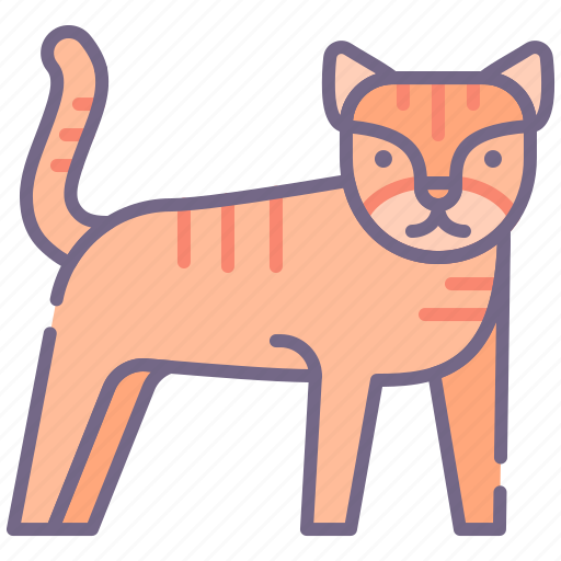 Cat, tiger icon - Download on Iconfinder on Iconfinder