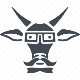 animal, animals hipsters, goat, zodiac icon