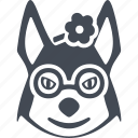 animal, animals hipsters, dog, pet icon