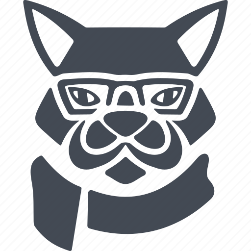 animal, animals hipsters, coyote, vermin, wolf icon
