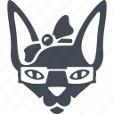animals hipsters, animal, cat, hipsters, pet icon