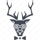 animals hipsters, deer, animal, hipsters icon