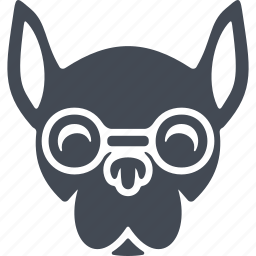animals, animals hipsters, dog, hipsters icon