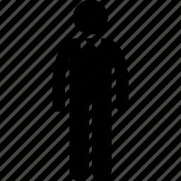 attire, bow, male, man, person, tie icon