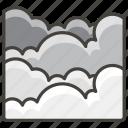 1f32b, fog icon