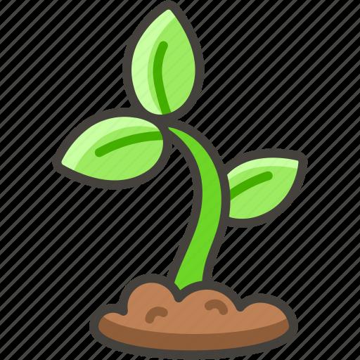 1f331, seeding icon