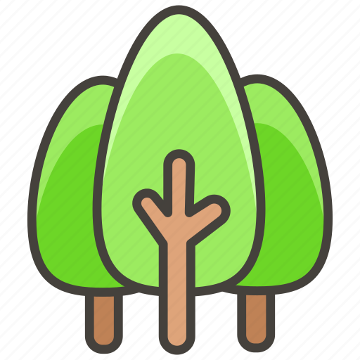 1f332, evergreen, tree icon - Download on Iconfinder