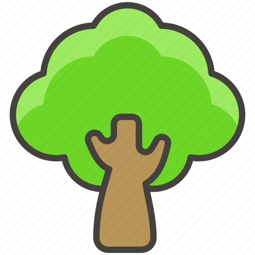 1f333, deciduous, tree icon - Download on Iconfinder