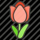 1f337, tulip icon