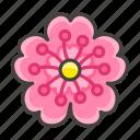 1f338, blossom, cherry