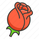 1f339, a, rose icon