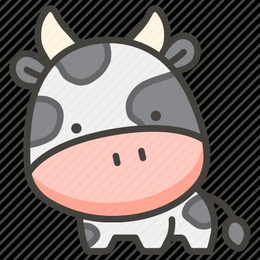 1f404, cow icon