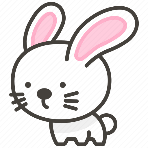 1f407, rabbit icon