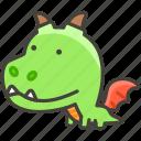 b, dragon, 1f409 icon