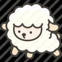 1f411, ewe icon