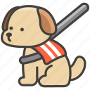dog, 1f415, service