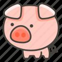 1f416, pig