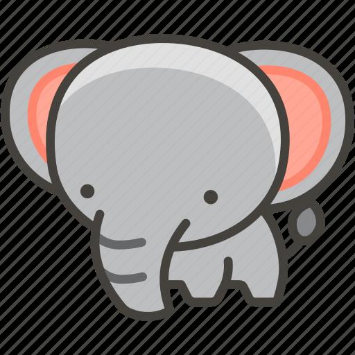 1f418, elephant icon