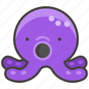 1f419, octopus icon
