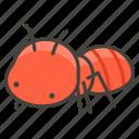 1f41c, ant icon