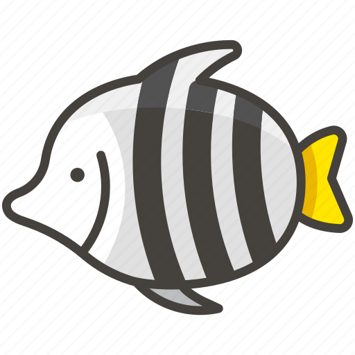 1f420, fish, tropical icon