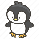 1f427, penguin icon